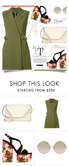 """""""Untitled #287"""" by dizarah ❤ liked on Polyvore featuring Valextra, Balmain, Paloma Barceló and Marc Jacobs"""