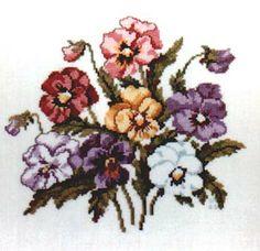crossed flowers