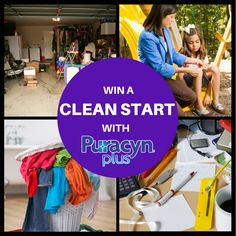 Cleaning first for the best finish is key. That holds true for any project or activity -- even first aid! Now through August 14, enter the Puracyn Plus Clean Start Giveaway for the chance to win a $250 gift card to your choice of California Closets, Home Depot, Pier 1 Imports or Staples along with Puracyn Plus products. Four (4) winners total!