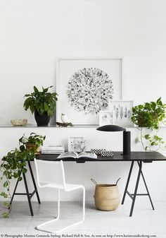 4 inspiring workspaces using plants & tips to fight the holidays blues. Read on www.karinecandicekong.com
