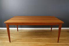 Vintage Teak Dining Table by Neils Moller, Model #12