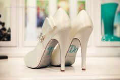 Wedding day shoes :)- Become a VIB today for more great wedding resources and deals from our VIB Vendors