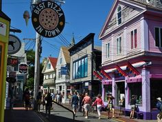 Provincetown, Cape Cod - We were there in Aug 2013. I had the best pancakes ever at the Post Office Cafe.
