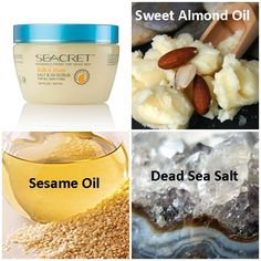 Salt & Oil Salt Scrub by Seacret Direct.  I'll Never be without this again!!! www.sagentsabrina.com