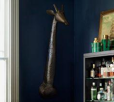 Ken Fulk Cast Giraffe Bust | Pottery Barn
