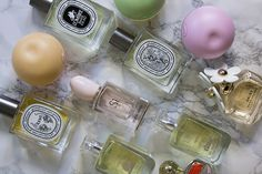 My Fragrance Collection: Diptyque, DKNY, Marc Jacobs, Arran Aromatics, Giorgio Armani, Coach