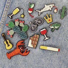Bonjour Monday! This week weve fabulous embroidered brooches from French designers @maconetlesquoy - which one is your favourite?