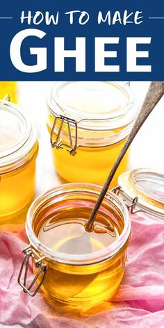 How to Make Ghee! Ghee, also known as clarified butter, has a lovely nutty flavor, lasts indefinitely, and has a high smoke point. It can also often be eaten by people who are lactose intolerant. Different Dinner Ideas, Club Sandwich Recipes, Making Ghee, Chicken Club, Lactose Free Diet, Ayurvedic Recipes, Best Butter, Organic Butter, Simply Recipes
