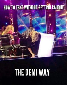 Oh Demi :D