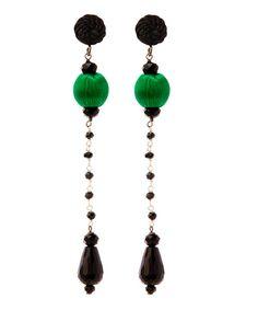 Emerald green and black...also @libertylondon