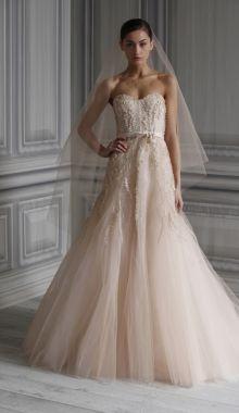 Vintage tulle wedding dress