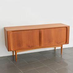 Vintage Teak Sideboard Bernhard Pedersen & Son / Midcentury Credenza Denmark