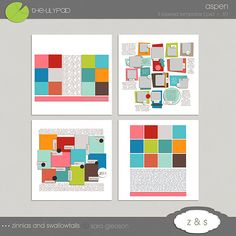Year In Review Layouts « The Lilypad Digital Scrapbooking Blog