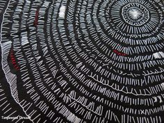 Stitching circles - life circles - Tanglewood Threads