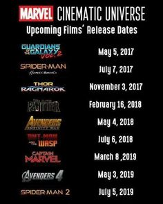 marvel film date