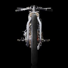 """""""Art pieces, most commonly known as motorcycles"""" by Japanese artist Chicara Nagata."""