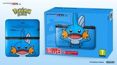 Nintendo XL Pokemon Series - Mudkip Edition by Paxxy on DeviantArt Nintendo World, Nintendo Ds, Pokemon Jewelry, Mudkip, Bulbasaur, Custom Consoles, Pokemon Pocket, Nerd Love, Metroid