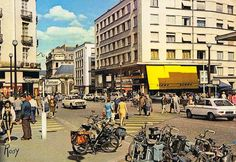 NANTES La rue de Feltre et la place du Bon Pasteur en 1970