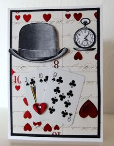 Use of small playing cards _Moski