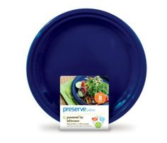 Preserve On-The-Go 10-1/2-Inch Plates, Midnight Blue, Set of 8, (Pack of 12) by Preserve. $100.00. Set of 8 10-1/2-inch plates--great for parties, picnics, and everyday use. 100-percent recyclable; made in the USA; dishwasher-safe. Made from 100-percent recycled #5 plastic, including take-out containers. Pairs well with other Preserve  plastic tableware. BPA- and melamine-free; lightweight, but sturdy; can withstand hundreds of uses. Preserve makes stylish and high-performan...