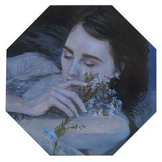 Dreamlike Paintings by Kari-Lise Alexander – Fubiz Media Inspirational Artwork, Music Film, Photo Projects, Community Art, How To Feel Beautiful, American Artists, Traditional Art, Book Art, Sculptures