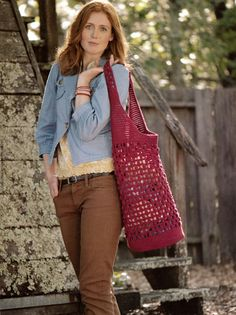 Cute Crocheted Bags at MaggiesCrochet.com