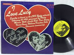 I Love Lucy / My Favorite Husband - LP Vinyl Record 1978 Radiola Lucille Ball