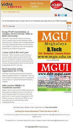 "#EducationNews@VidyaExpress- ""1-year LLM at DU next year"" For more information visit online: http://www.vidyaexpress.com/newsletter/newsletter61/newslttr61.php"