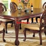 Set+Kursi+Makan+Jati+Ukiran+Jepara Dining Table, Sofa, House, Furniture, Home Decor, Ideas, Homemade Home Decor, Diner Table, Home