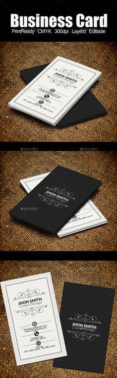 Vertical Retro Vintage Business Card Template #design #visitenkarte Download: http://graphicriver.net/item/vertical-retro-vintage-business-card-template/12293624?ref=ksioks