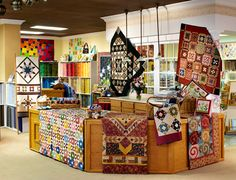 At The Fig Leaf in Fort Collins, Colorado, Laura and Rob Shotwell pair two businesses—fabric and furniture— under one roof, offering quilters twice the fun.