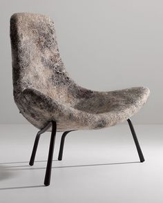 Rapa Felt Chair by Ayala Serfaty of Aqua Creations