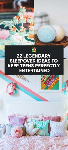 Letting your kids decide what to do at their sleepover party is important but making sure they don't get bored or frustrated and do something they are not supposed to, is also key. To help you decide, here are 22 legendary sleepover ideas to pick from.