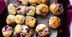 Raspberry and white chocolate make these light and fluffy scones extra special.