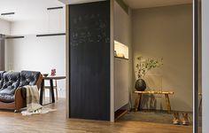 新竹 35 坪草綠色的現代居家 - DECOmyplace