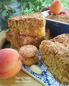 Torta agli amaretti con pesche e albicocche http://favoleamerenda.blogspot.it/2016/06/torta-agli-amaretti-con-pesche-e.html