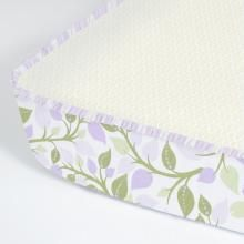Crib sheets with side designs so it still looks cute without the unsafe bumper pads! So glad someone invented this.