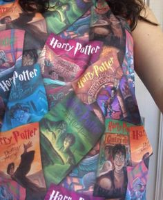 Harry Potter fan? No problem - we've got you covered // Harry Potter Book Cover Girls Muscle Top
