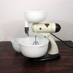 Vintage 1940s Mixmaster Automatic S Stand Mixer / Retro by MidMod, $98.00