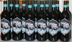 DIY printable custom wine bottle labels Perfect for by bugandboo, $10.00