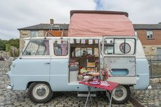 Classic campervan rental for Glamping, Weddings, Touring Cornwall and Cornish Surf adventures.