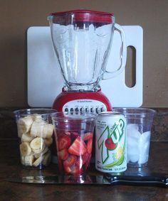 Strawberry Banana Slushy – 0 points! :http://recipes-all.com/strawberry-banana-slushy-0-points/
