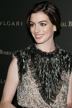 """Anne Hathaway  Actress and face of Lancome's fragrance Magnifique: """"Lancome Nutrix Royal Intense Lipid Repair Cream for face"""""""