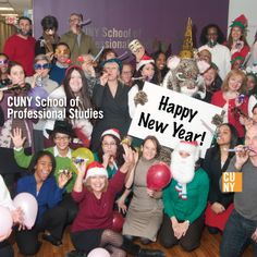 HAPPY NEW YEAR from all of us at CUNY SPS!