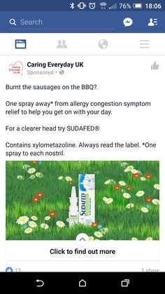 Sudafed, not relevant, dont suffer with hayfever
