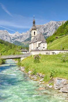 Ramsau, near Berchtesgaden, Germany