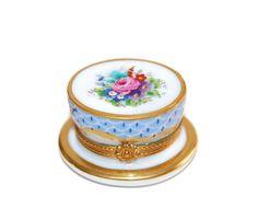 Limoges Alice in Wonderland Tea Party Trinket Box by Curiopolis