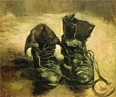 A Pair of Shoes ~ Vincent van Gogh 1886