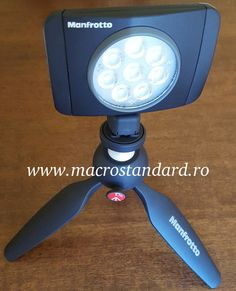 Manfrotto LED Lumie MUSE + Pixi mini trepied foto