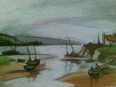 #drawing #pastels #landscape